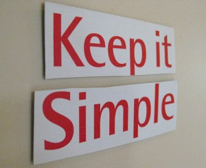 keepitsimple