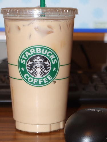 starbucks icedlatte How Many Calories In A Cup Of Coffee With Cream