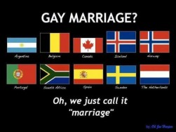 An anecdote of why gay marriage is ok